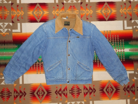 Maverick Trucker Rancher Lined Jacket Sz Small