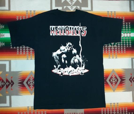 Hellbillys T Shirt Sz M The Cramps   Reverend Hort