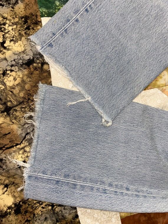 Levis 501 Button Fly Distressed Jeans Sz - image 7
