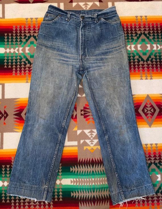 60s Levis Orange Tab Jeans Size 32