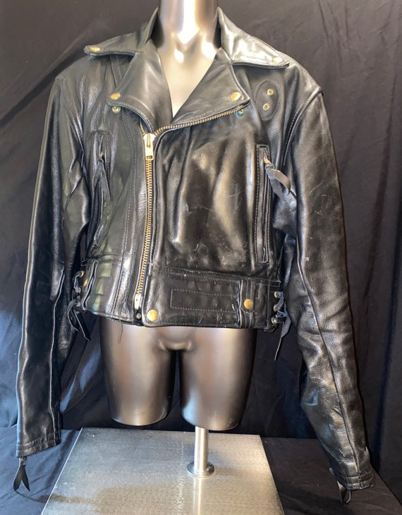 Langlitz Portland Oregon Leather Motorcycle Jacket