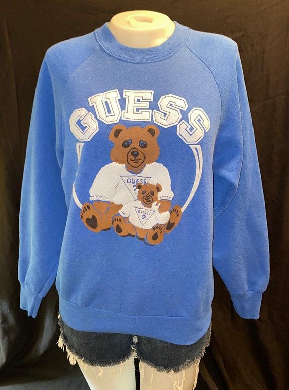 Guess Bears Raglan Sweatshirt
