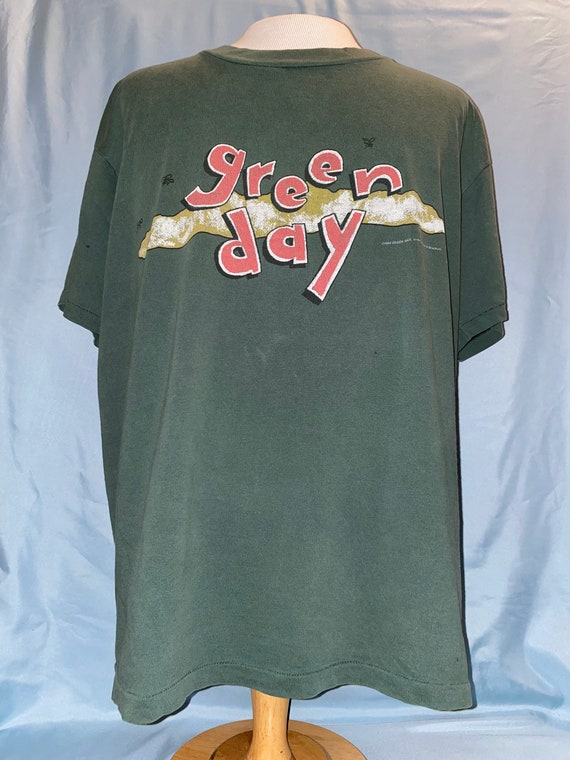 Green Day Dookie T Shirt Sz XL Crimpshrine Fiftee… - image 1
