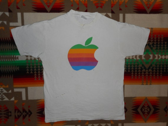 80s Apple T shirt Sz M