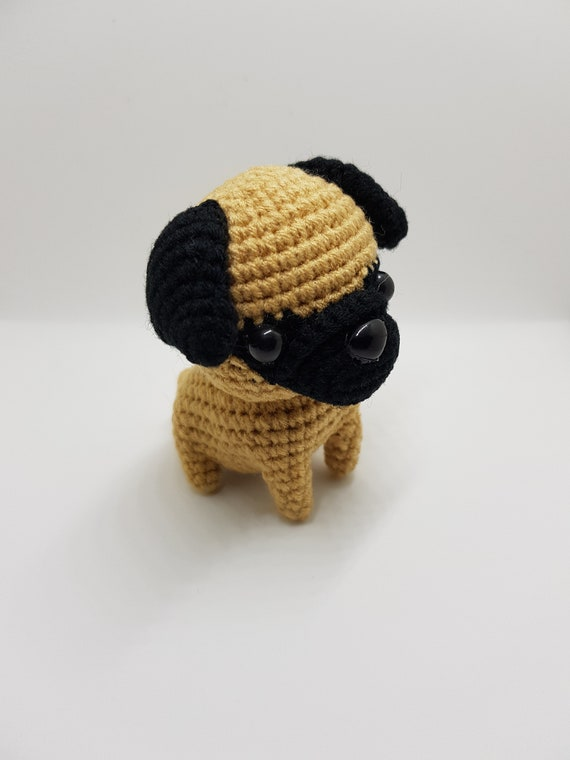 Pug dog Crochet pattern, Amigurumi Pug dog, Pug dog amigurumi ... | 760x570