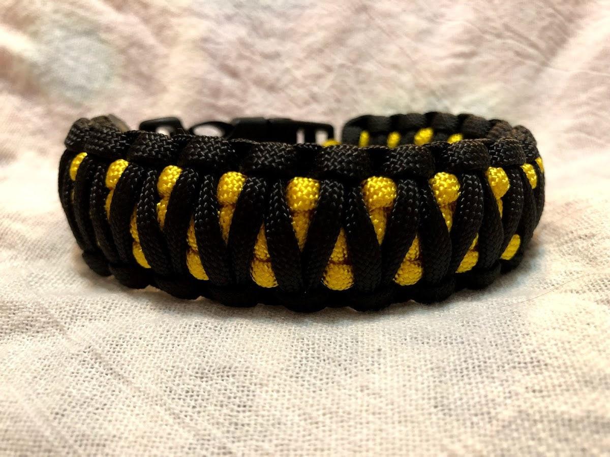 King Cobra Weave Paracord Bracelet Etsy