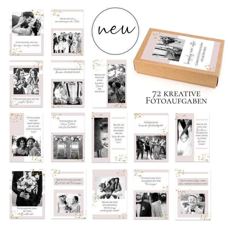 Card Set Wedding: Happily ever after  72 creative photo tasks image 0