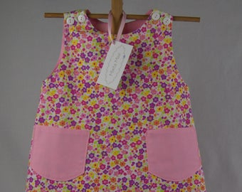 Kaycee - Girl's Dress/ Jumper, Size 3, with pockets