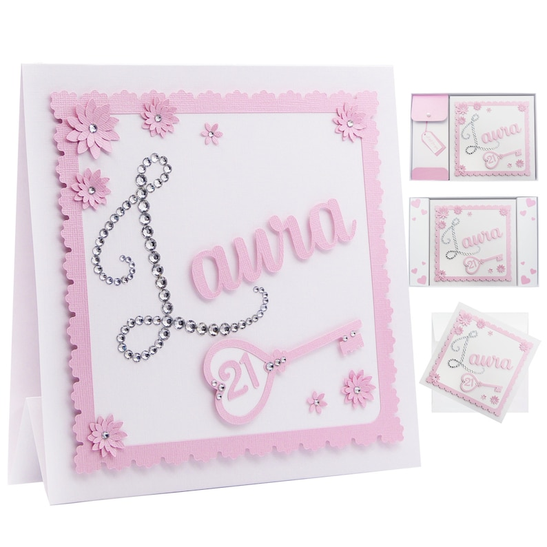 Personalised 21st Birthday Card Daughter 18th 16th 40th First