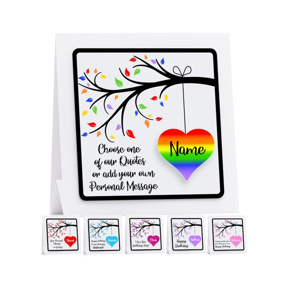 Personalised 30th birthday card fiancé husband boyfriend Any Age//Name//message
