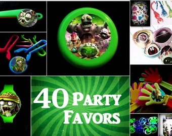 Pinata party plants vs zombies prizes for kids