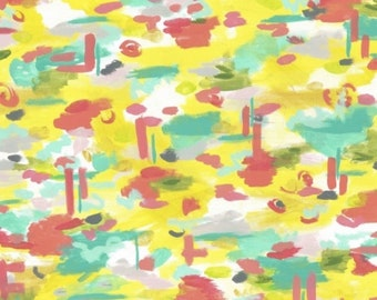 CLOSEOUT 40% off all orders over 100 dollars- Iza Pearl Sunshine Serenade Knit Fabric by The Yard