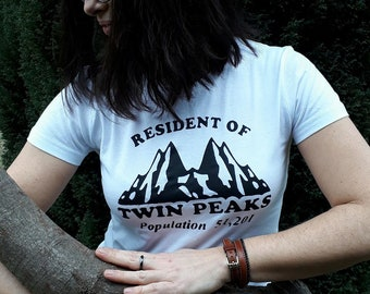 Twin Peaks T-shirt girl 3e shipping worldwide