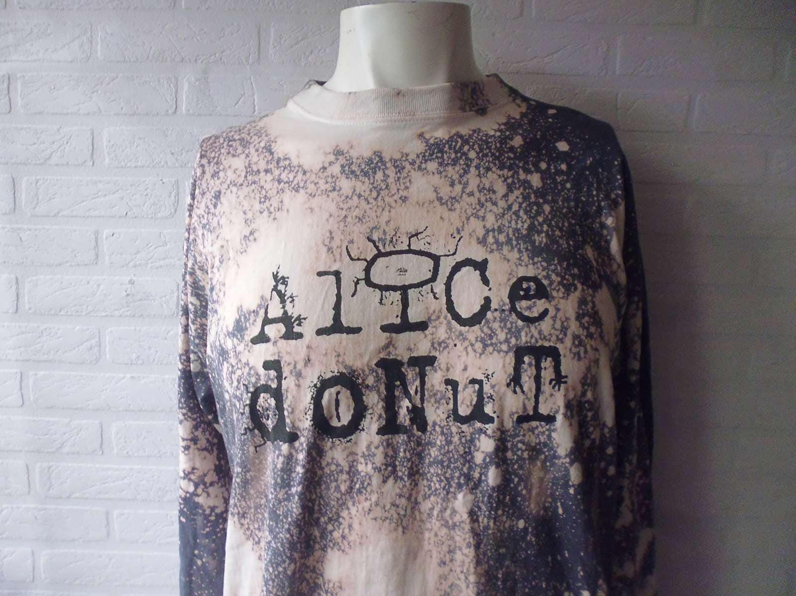 Alice Donut bleach long sleeved tee shirt shirt shirt 3e0b54