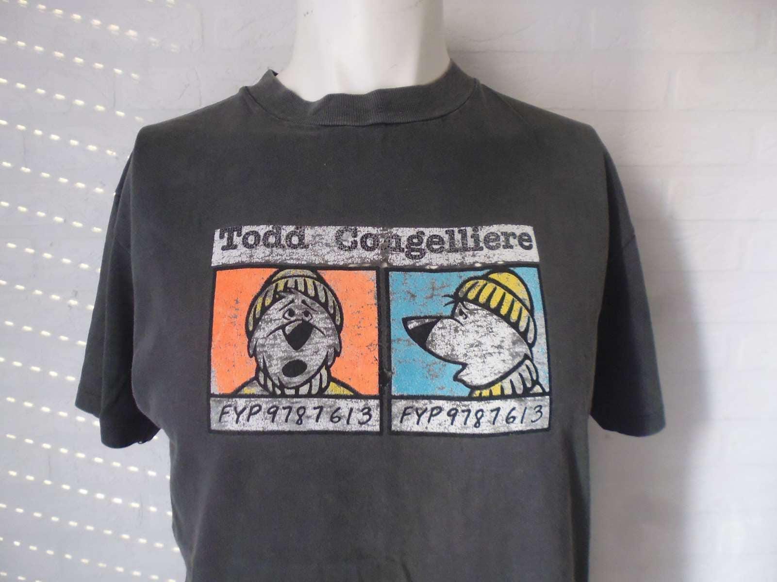 Rare Todd T Shirt Todd Rare Congelliere 1990 Liberty Skateboard