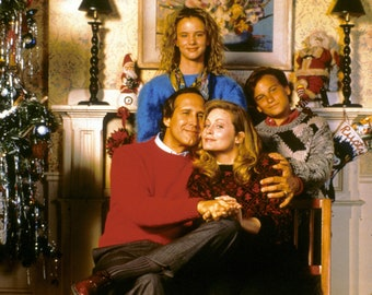 Digital Download Printable National Lampoon's Christmas Vacation Family Photo > Clark Griswold > Cousin Eddie > Randy Quaid > Chevy Chase