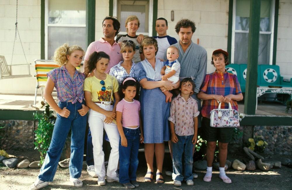 National Lampoons Vacation Family Photo Clark