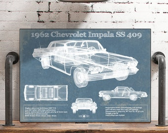 1966 Chevy Owner/'s Manual POSTER! Original Owner/'s Manual Design Wall Art Pop Art Chevrolet Vintage Antique
