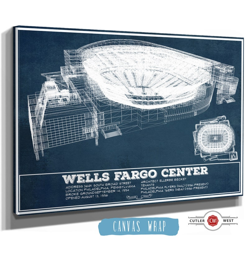 Philadelphia Flyers Wells Fargo Center Vintage Hockey ...