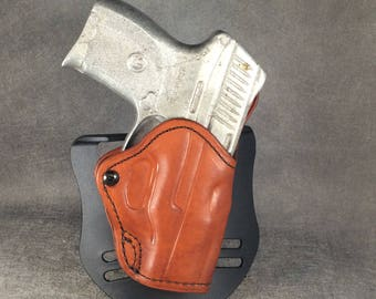 Glock 19/23/32 OWB Leather Paddle Holster E Series | Etsy