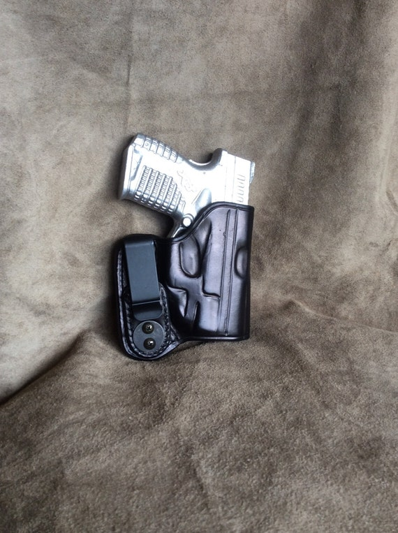 Springfield XDS Mod 2 Leather Gun Holster 9/45 3 3