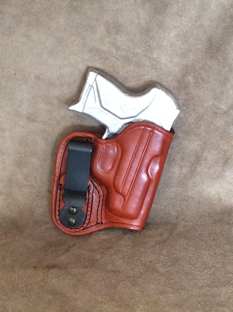 Ruger LCP 2 IWB Concealed Tuckable Leather Holster