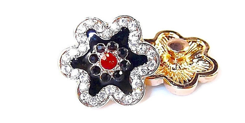 0794ac8953cb0 Helleborus snap charmSnap Jewelrycompatible w Ginger snaps