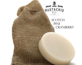 Scotch Pine Cranberry Shave, Shower and Shampoo Soap