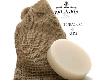 Tobacco & Rum Shave, Shower and Shampoo Soap