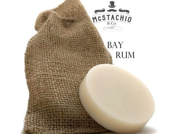 Bay Rum Shave, Shower and Shampoo Soap