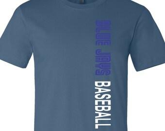 Blue Jays Baseball T, Toronto Tee, Baseball Tee, Blue Jays T Shirt, Toronto Baseball, Blue Jays Shirt, Tee For Blue Jays, Baseball Shirt