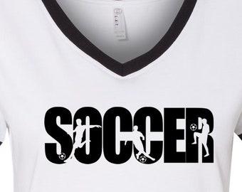 Soccer Boy Shirt, Soccer Shirt, Moms Soccer Shirt, Tee for Soccer Mom, Soccer Tee, Soccer and Mom, Gift for Mom, Moms Tee, Soccer Life