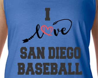 Padres, Racerback Tank Top, Sports Team Tee, Baseball T Shirt, Padres Fan Tee, San Diego Shirt, Her Padres Tee Shirt for Her San Diego Shirt