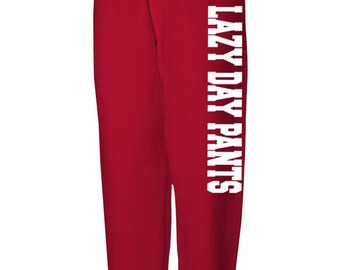 Unisex Sweatpants Fancy Pants Lazy Day Pants Casual Pants, Mom Gift, Gift for Her, Low Crotch Pants, Printed Loose Pants Loose Bottom Sweats