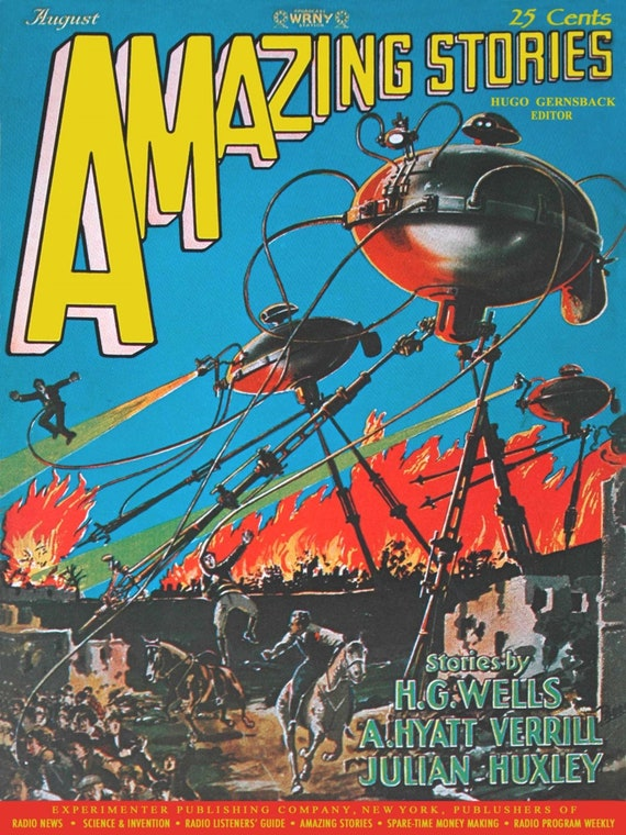 Amazing Stories Magazine Cover Art And Illustrations 40 Trading Cards Set Sci Fi Fantasy Art