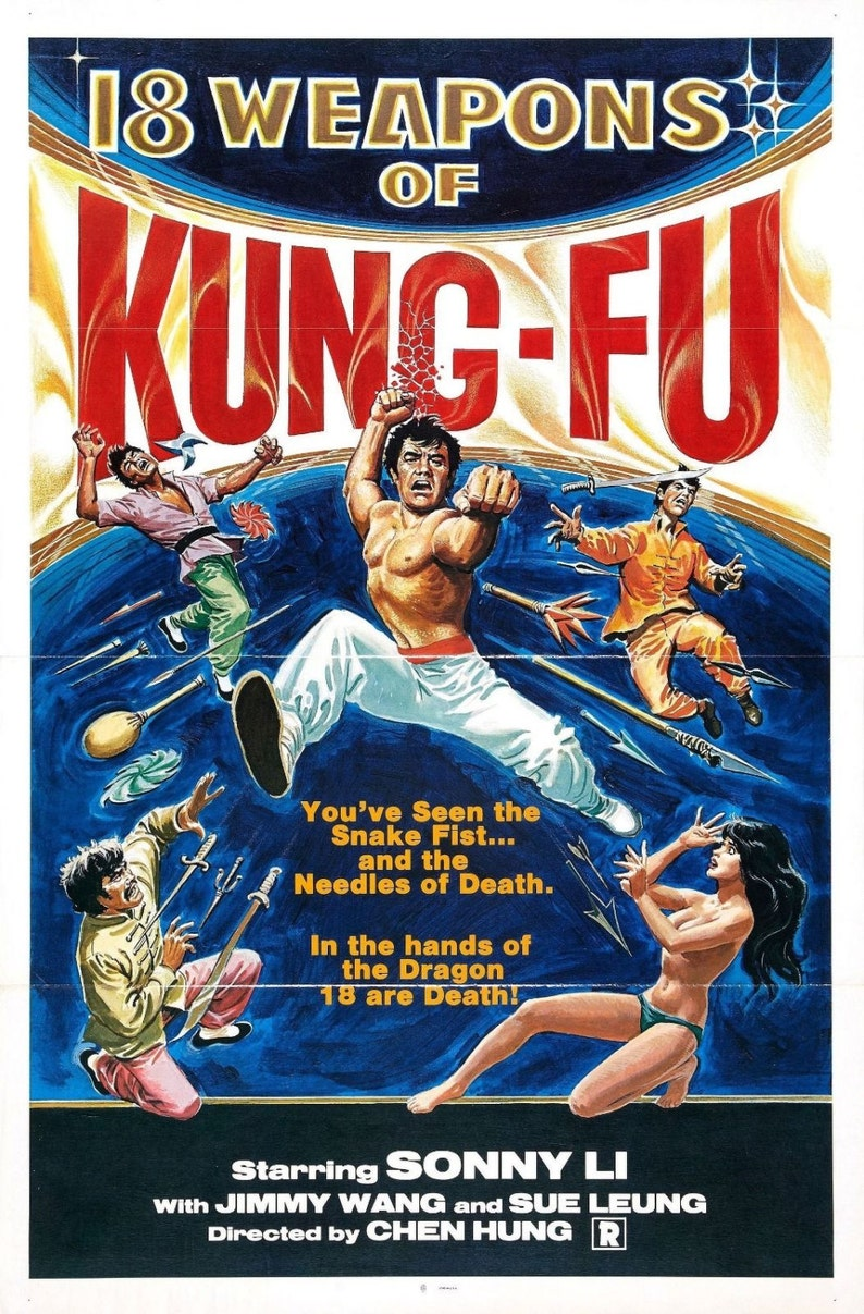 KUNG-FU! Masters of The Martial Arts Movie Posters - 24-Trading Cards