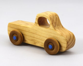 Wood Toy Pickup Truck from the Play Pal Series -- Handmade