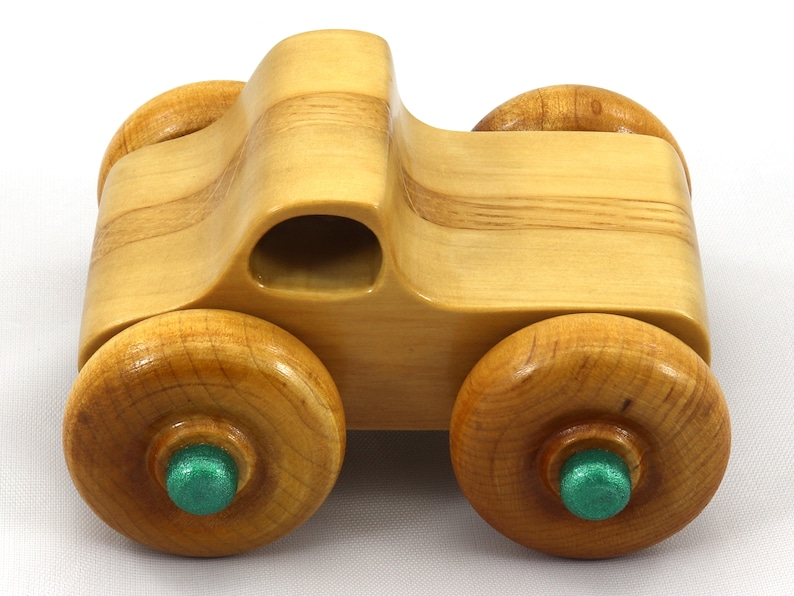 Wood Toy Monster Truck based on the Pickup Truck in the Play image 0