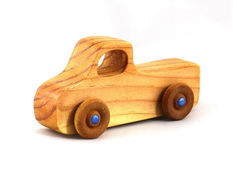 Handmade Wooden Toy Truck Pickup Truck from the Play Pal image 0