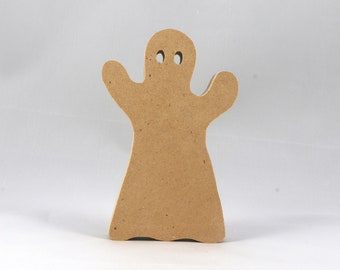 Halloween Ghost Cutout - Handmade - Wood