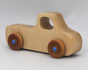 Wood Toy Pickup Truck from the Play Pal Series - Handmade