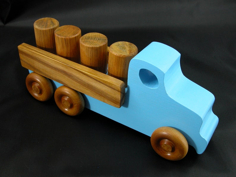 Wooden Toy Truck  Lorry Truck From Quick N Easy 5 Truck Fleet image 0