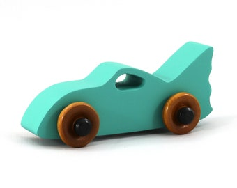 Wood Toy Bat Car from the Play Pal Series