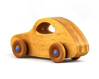 Wood Toy Car From The Play Pal Series