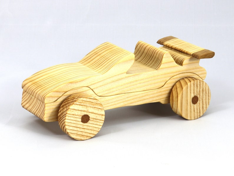 Handmade Wooden Toy Car Convertible From The Speedy Wheels image 0