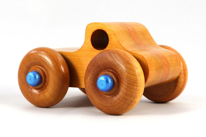 Handmade Wooden Toy Monster Truck Based on the Play Pal image 0