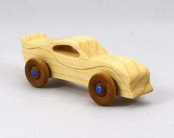 Wood Toy Car From the Itty-Bitty Series