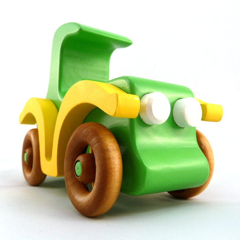 Handmade Wood Toy Car The Coupe from the  Bad Bob's image 0