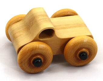 Wood Toy Monster Truck Based On The Play Pal Pickup - Handmade