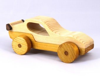 Wood Toy Car Sport Coupe From The Speedy Wheels Series